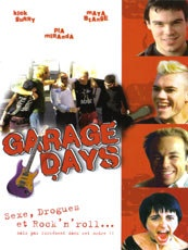 Affiche du film Garage days