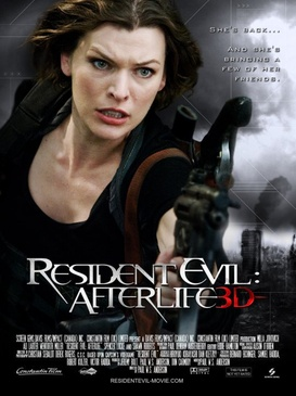 Affiche du film Resident Evil : Afterlife