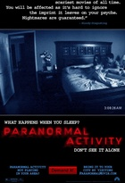 Affiche miniature du film Paranormal Activity
