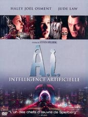 Affiche du film A.I, Intelligence Artificielle