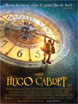 Affiche du film L'invention d'Hugo Cabret