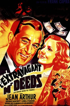 Affiche du film L'Extravagant Mr. Deeds