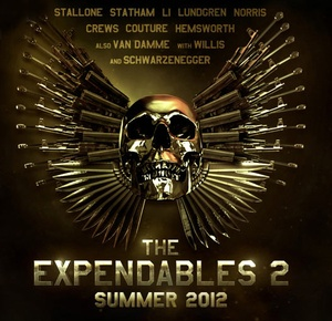 Affiche du film The Expendables 2