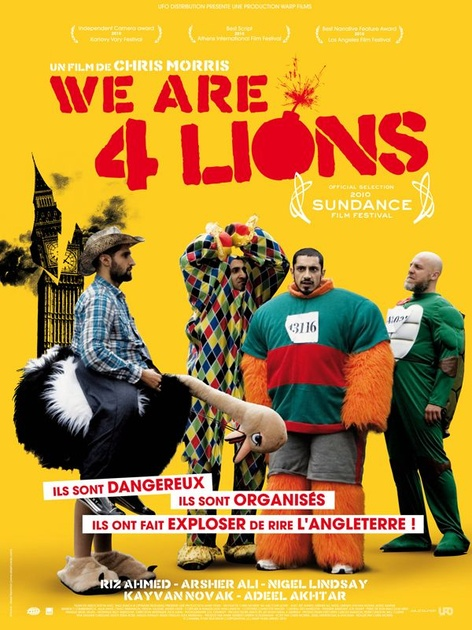 [US] [FS]  We Are Four Lions [DVDR - Multi]