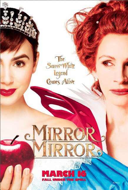 Blanche neige 2012 lily collins nathan lane julia for Miroir miroir blanche neige