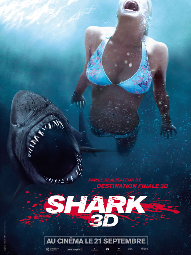 Shark 3D VF 2011 en streaming mobile