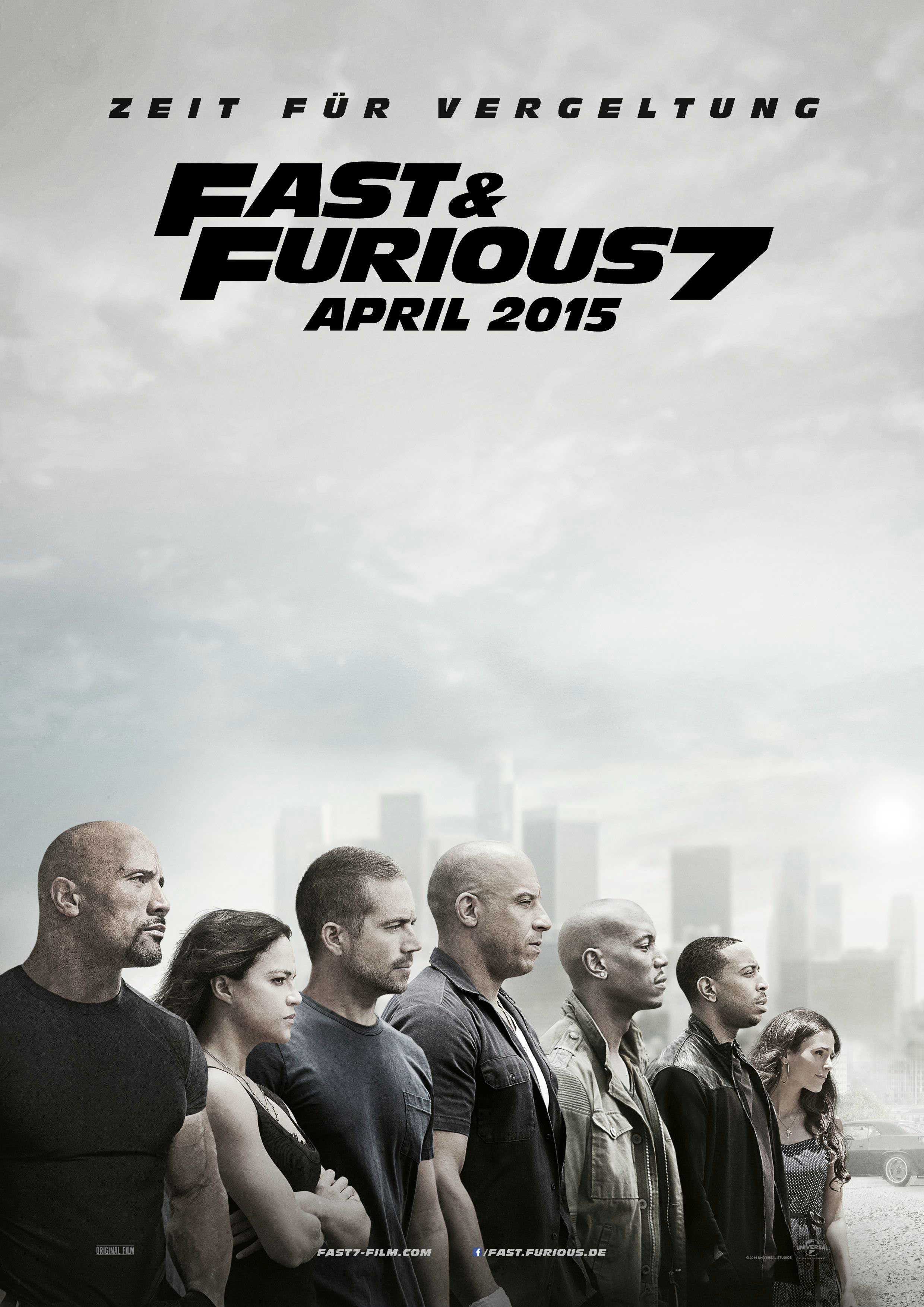 fast and furious 7 affiche du film fast and furious 7 zoom. Black Bedroom Furniture Sets. Home Design Ideas