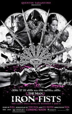 Affiche du film The Man with the Iron Fists