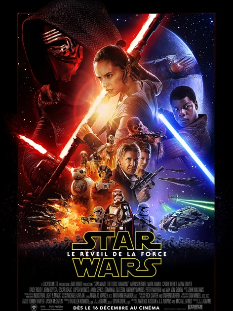 Affiche du film Star Wars: Episode 7