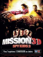 Affiche du film Mission 3D Spy Kids 3
