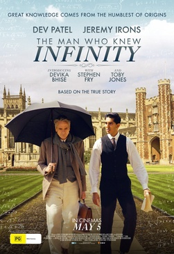 Affiche du film The Man who knew Infinity