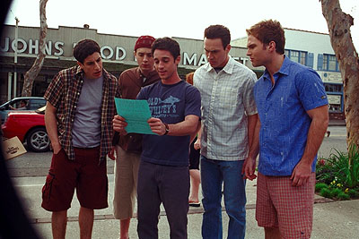 jason biggs eddie kaye thomas thomas ian nicholas chris klein seann william scott - American Pie 2
