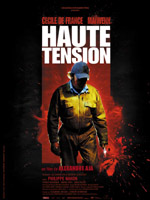 Affiche du film Haute tension