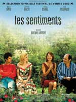 Affiche du film Les sentiments