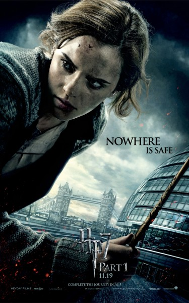 new poster 2 harry potter 7 part 1
