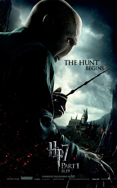 new poster 4 harry potter 7 part 1