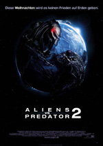 Affiche du film Aliens vs. Predator - Requiem