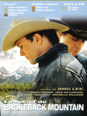 Affiche du film Le secret de Brokeback Mountain
