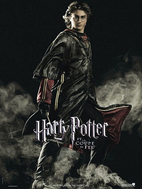 Harry potter et la coupe de feu affiche du film harry zoom - Film harry potter et la coupe de feu ...