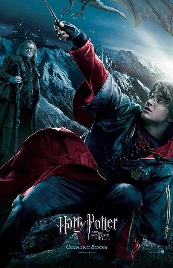 Harry potter et la coupe de feu affiche du film harry potter harry zoom - Film harry potter et la coupe de feu ...