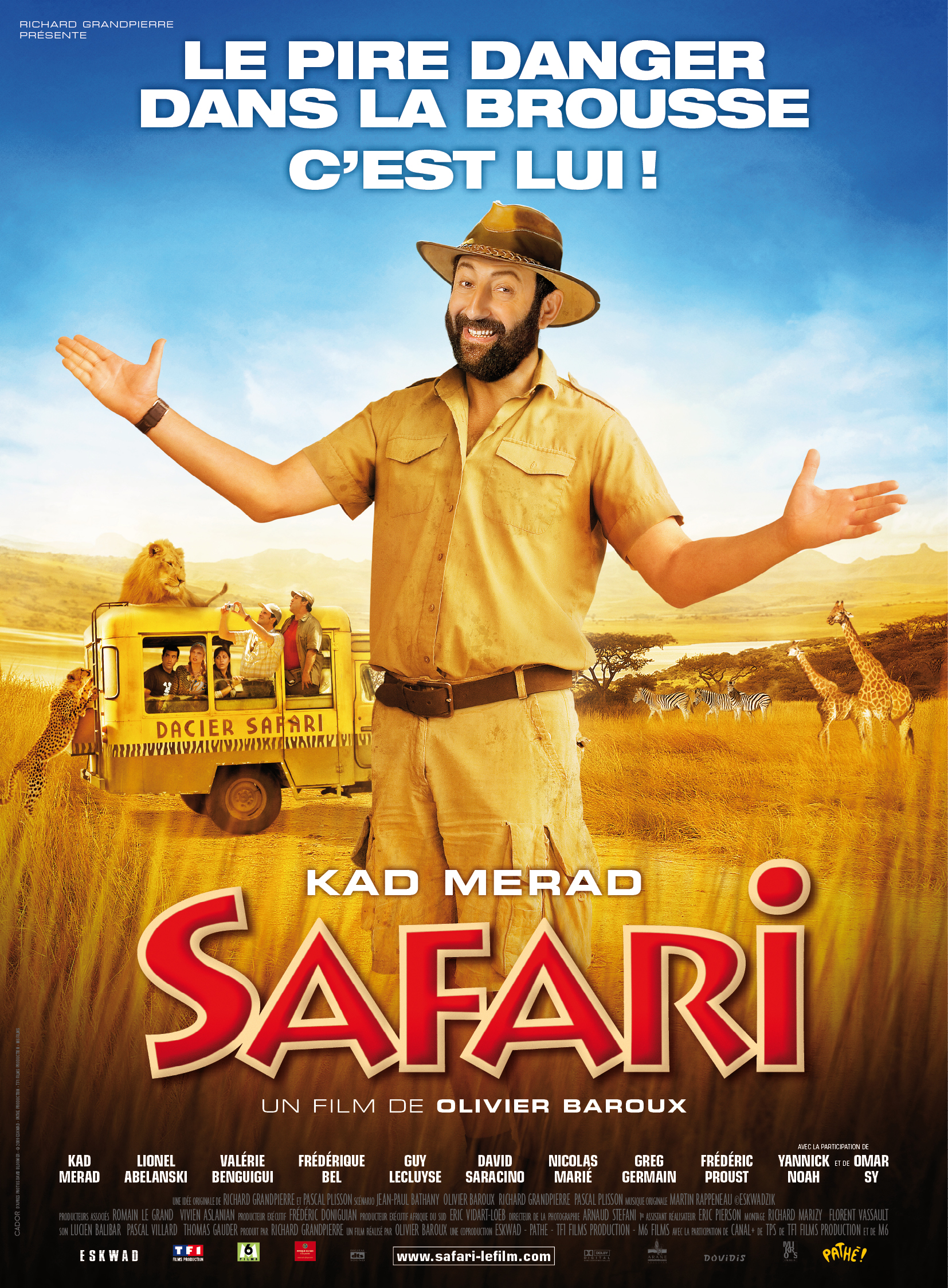 safari affiche du film safari zoom. Black Bedroom Furniture Sets. Home Design Ideas