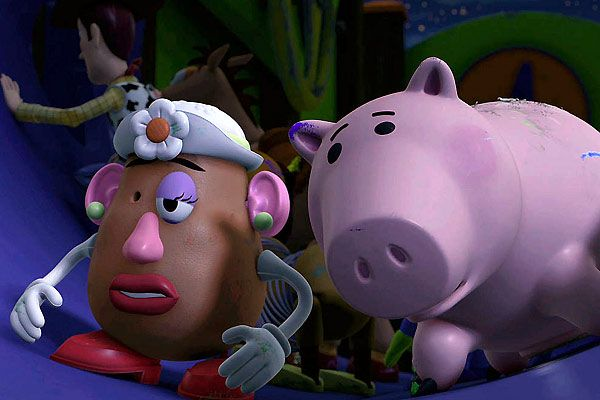 Toy story 3 monsieur patate tirelire cochon zoom - Madame patate toy story ...