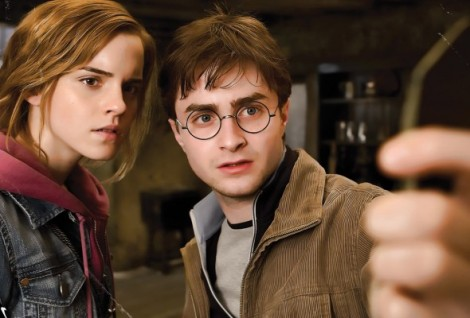 seconde photo Harry Potter 7 Harry et Hermione