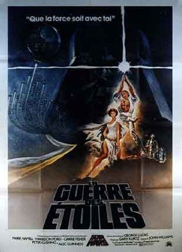 Star Wars Episode 4 Un Nouvel Espoir Affiche Du Film Star Wars Episode 4 Un Nouvel Espoir Star Wars Episode 4 La Guerre Des Etoiles Zoom Cinema Fr