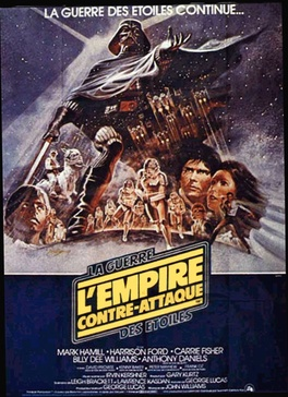 Affiche du film Star Wars : Episode 5 - l'Empire contre-attaque