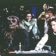 peter mayhew carrie fisher anthony daniels mark hamill harrison ford - Star Wars : Episode 6 - Le retour du jedi