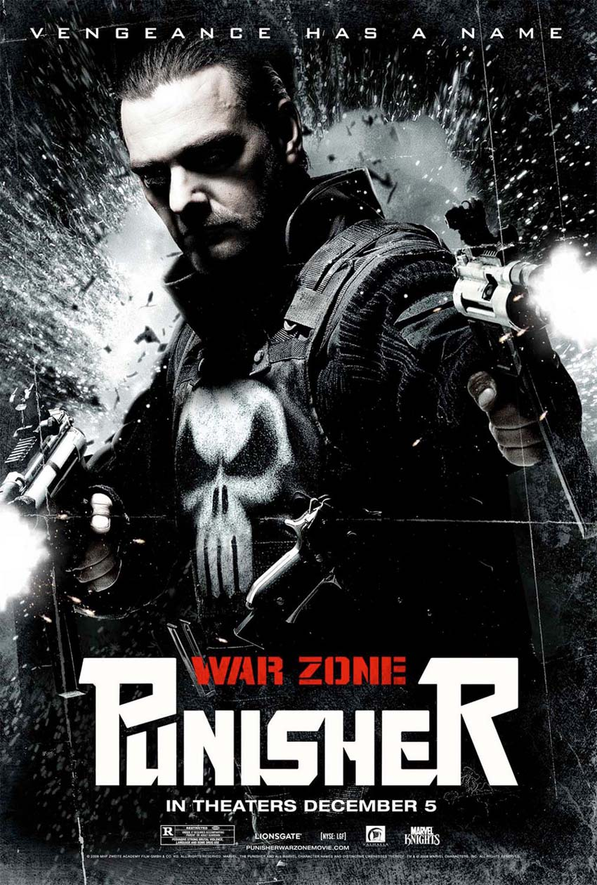 The Punisher - Zone de guerre affiche