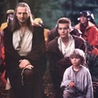 liam neeson ewan mcgregor jake lloyd - Star Wars : Episode 1 - La menace fantôme