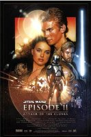 Affiche du film Star Wars : Episode 2 - L'attaque des clones