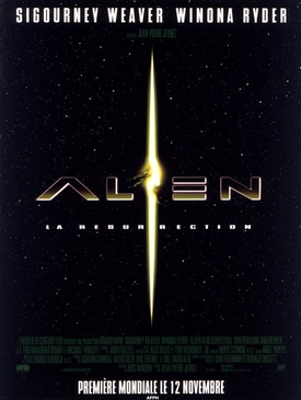 Affiche du film Alien, la résurrection