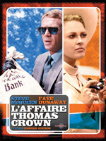 Affiche du film L'Affaire Thomas Crown (1968)