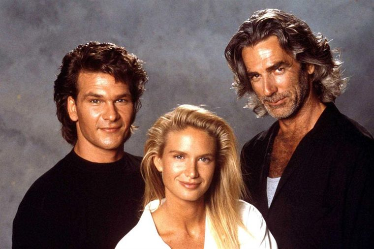 patrick swayze kelly lynch sam elliott and swimsuit Wallpaper