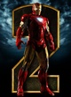 Affiche Iron Man 2 rouge