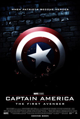 affiche am ricaine captain america