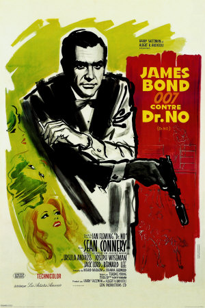 Affiche du film James Bond contre Dr No