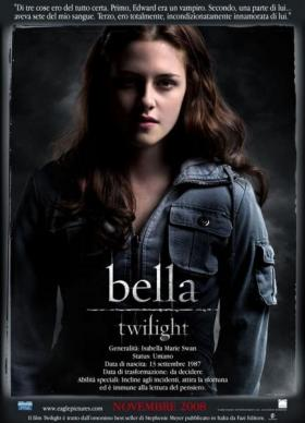 affiche 1 - Twilight - Chapitre 1 : Fascination