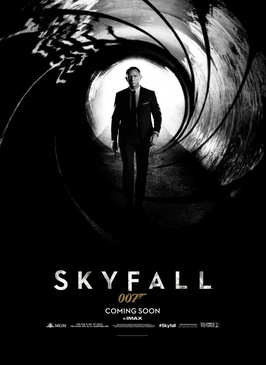 Affiche du film James Bond 23 : Skyfall