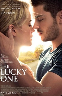 The Lucky one avec Zac Efron, affiche + bande annonce