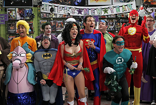 The Big Bang Theory : super-heros-jpg