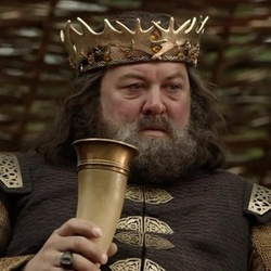 roi robert baratheon le tr ne de fer game of thrones zoom. Black Bedroom Furniture Sets. Home Design Ideas